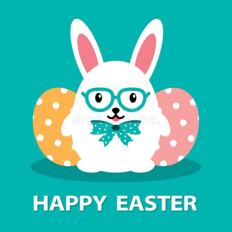 Jajeczny królik ilustracji