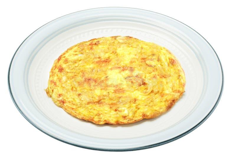Jajeczny omlet zdjęcia stock