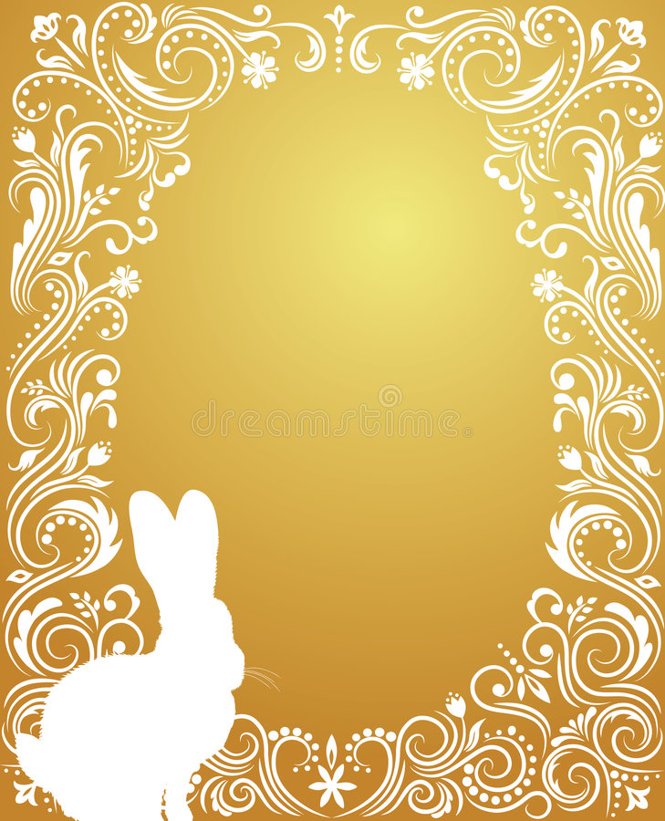 jajeczny złoto royalty ilustracja