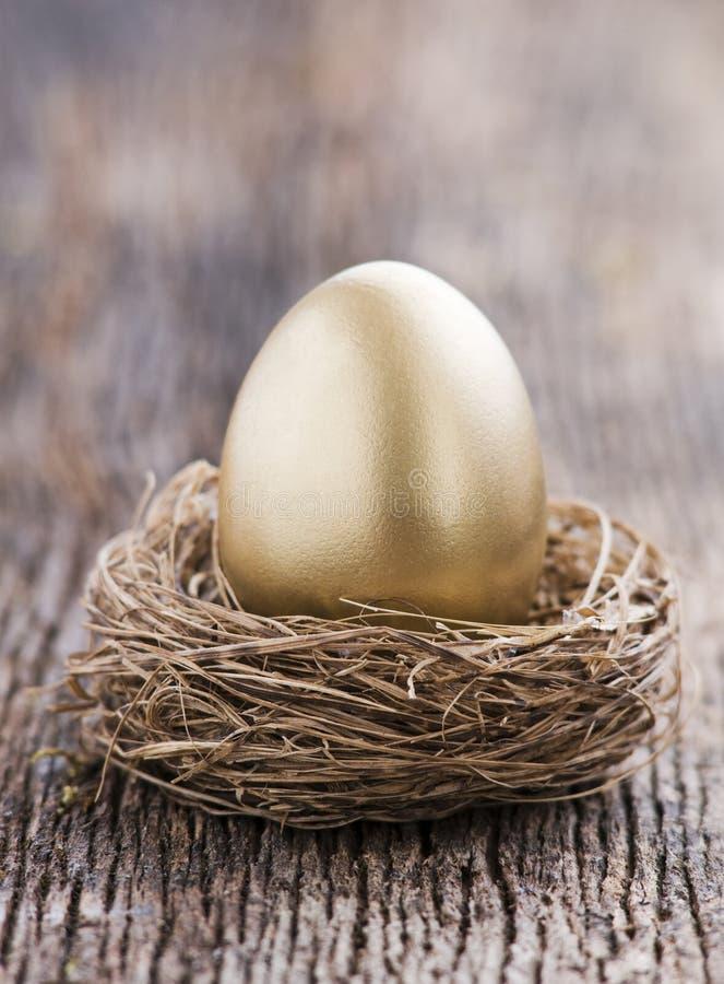 jajeczny złoty obrazy royalty free