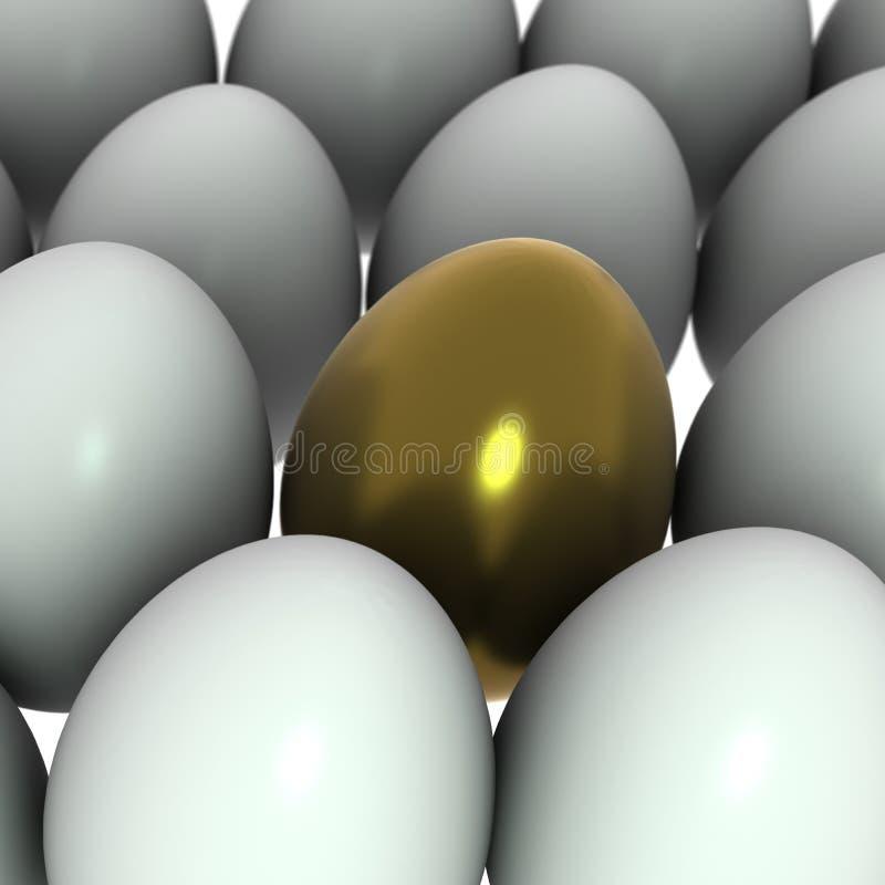 jajeczny złoty ilustracji