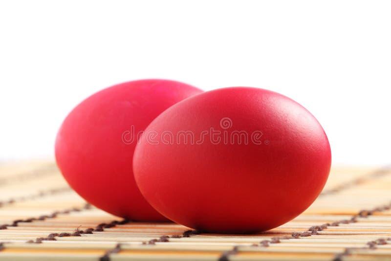 jajka czerwoni zdjęcie royalty free