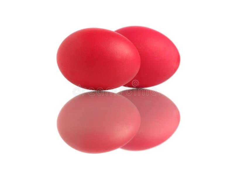 jajka czerwoni zdjęcia stock