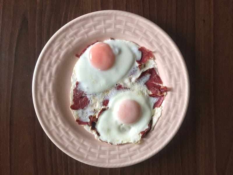 Jajka dla śniadania fotografia royalty free