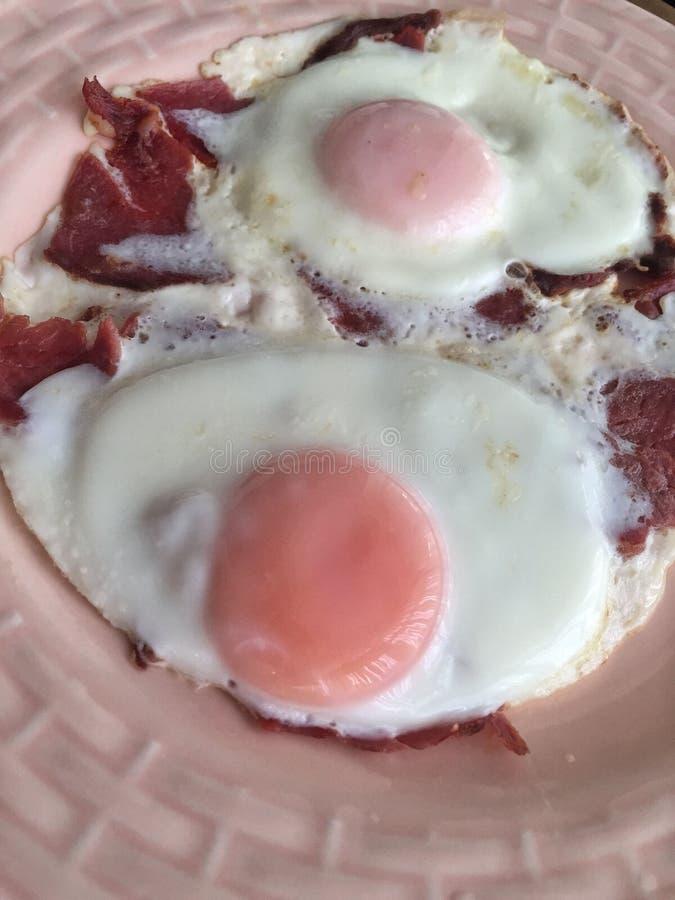 Jajka dla śniadania fotografia stock