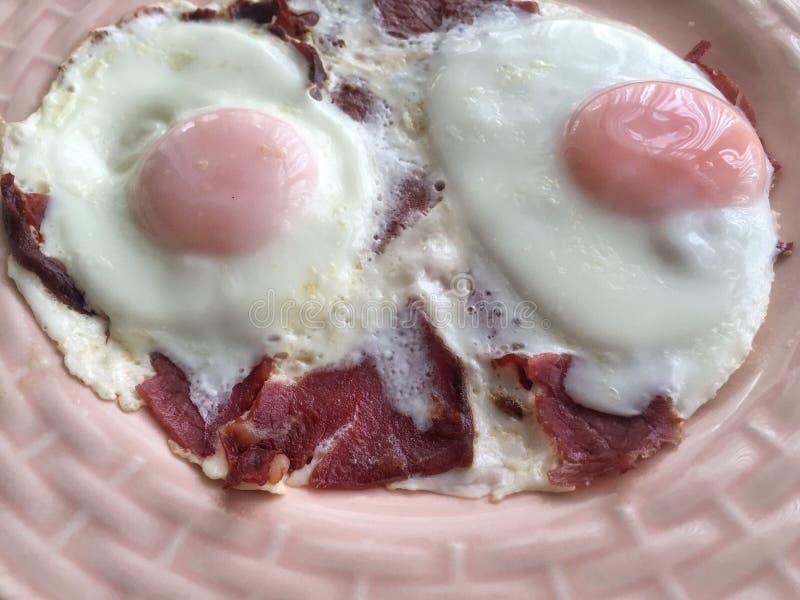Jajka dla śniadania zdjęcia stock