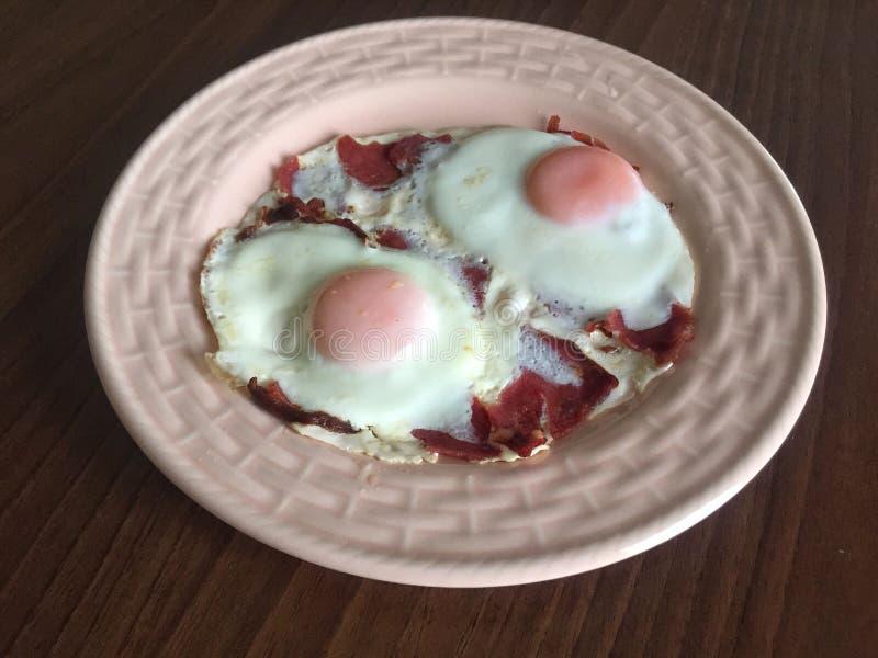 Jajka dla śniadania obrazy stock