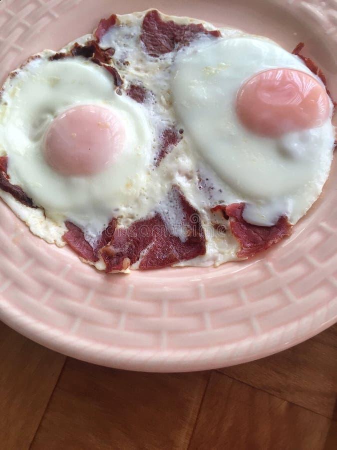 Jajka dla śniadania zdjęcie royalty free