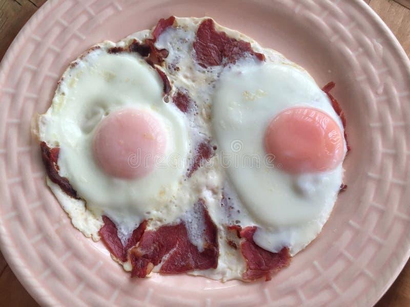 Jajka dla śniadania obraz royalty free