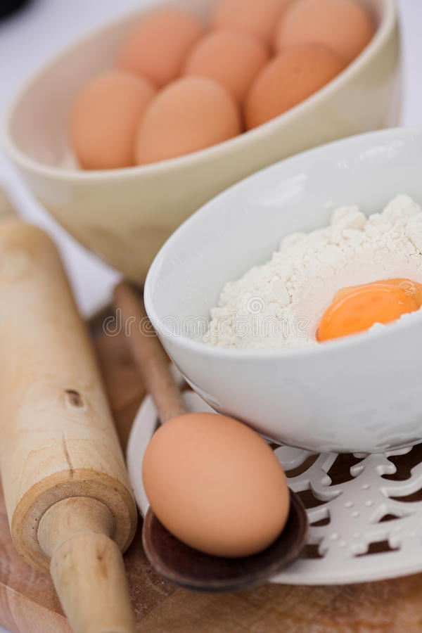 jajka flour więcej target449_1_ szpilek obrazy royalty free