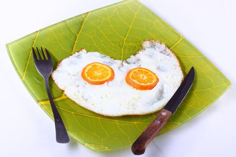 jajka smażyli obrazy royalty free