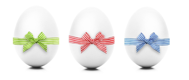 Jajka z pętlą obrazy royalty free