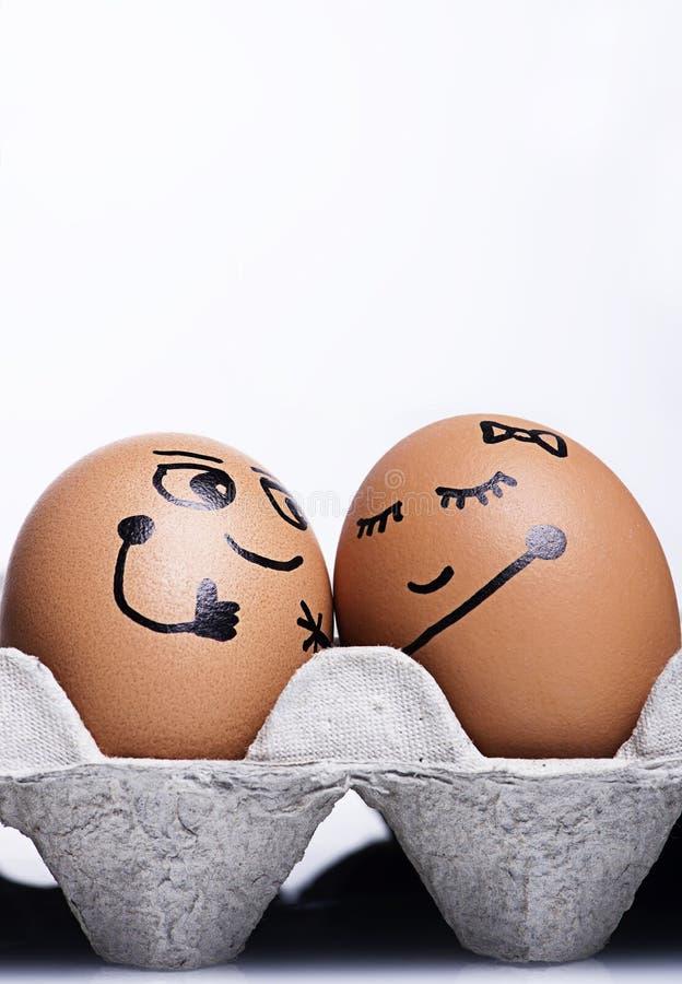 Jajko charakter obrazy stock
