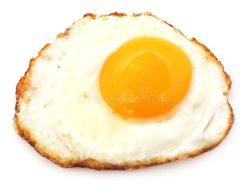 jajko smażący zdjęcia stock