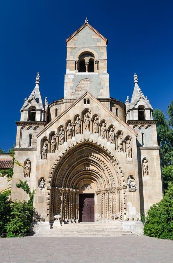 Jak Chapel in Budapest, Hungary royalty free stock photo