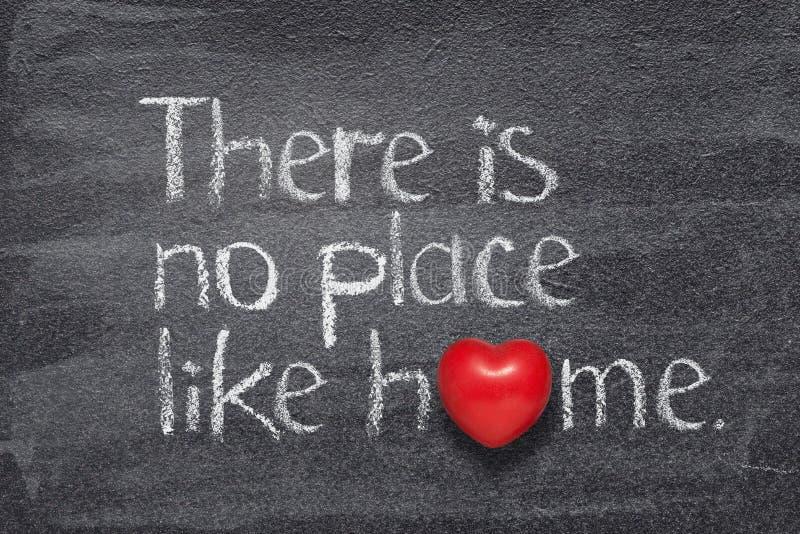 Jak domowy serce obrazy stock