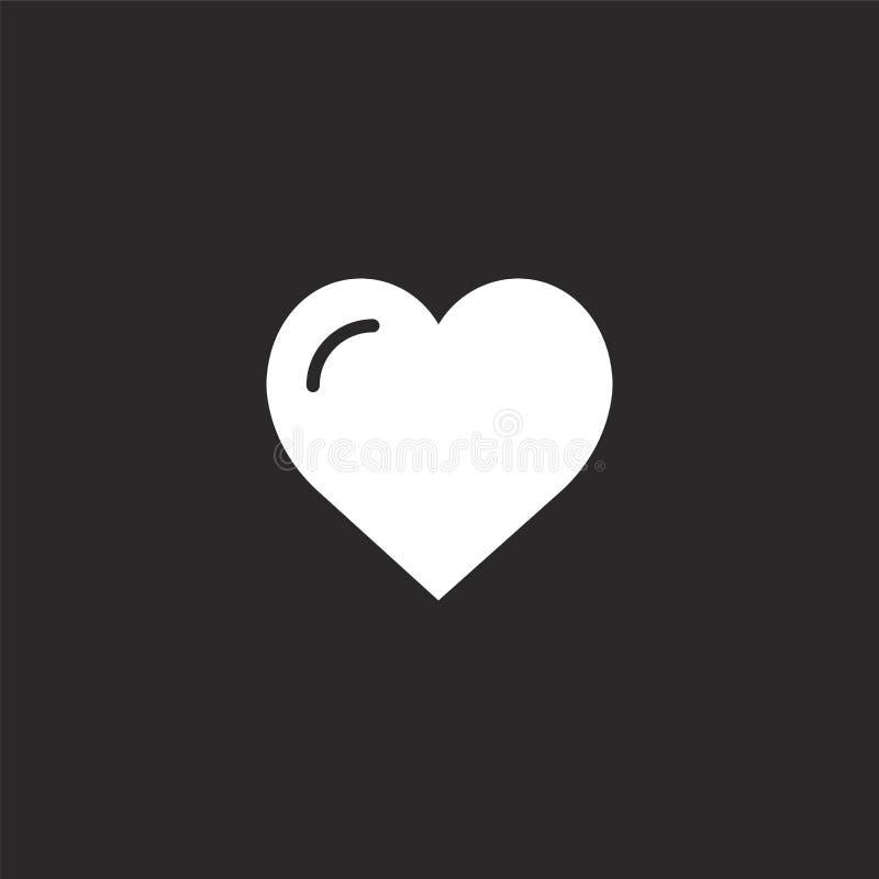 Jak ikona Wypełniający jak ikona dla strony internetowej wiszącej ozdoby i projekta, app rozwój jak ikona od wypełniającej istotn royalty ilustracja