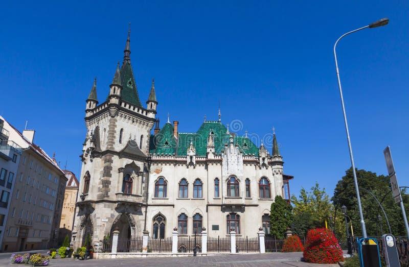 Jakab pałac w Kosice mieście, Sistani zdjęcie royalty free