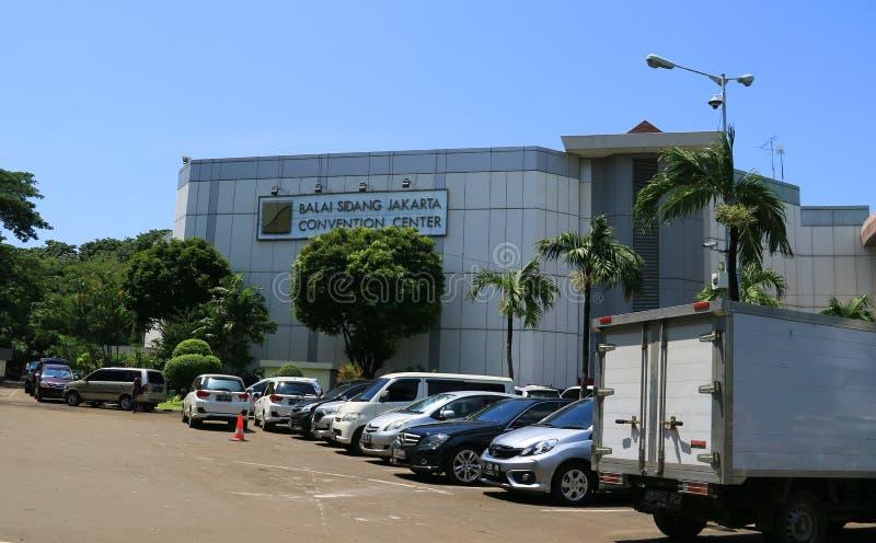Jakarta Convention Center foto de archivo libre de regalías