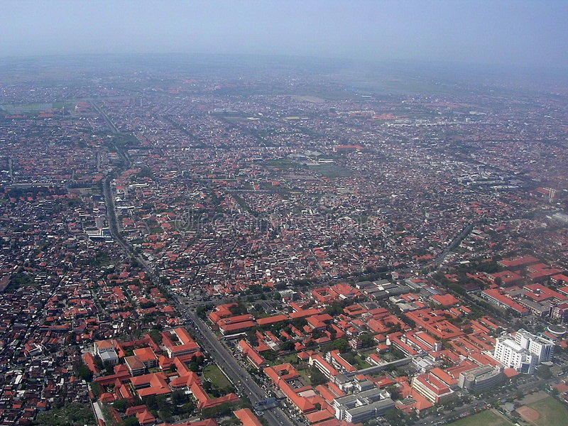 Download Jakarta from Heaven stock image. Image of house, jakarta - 158427