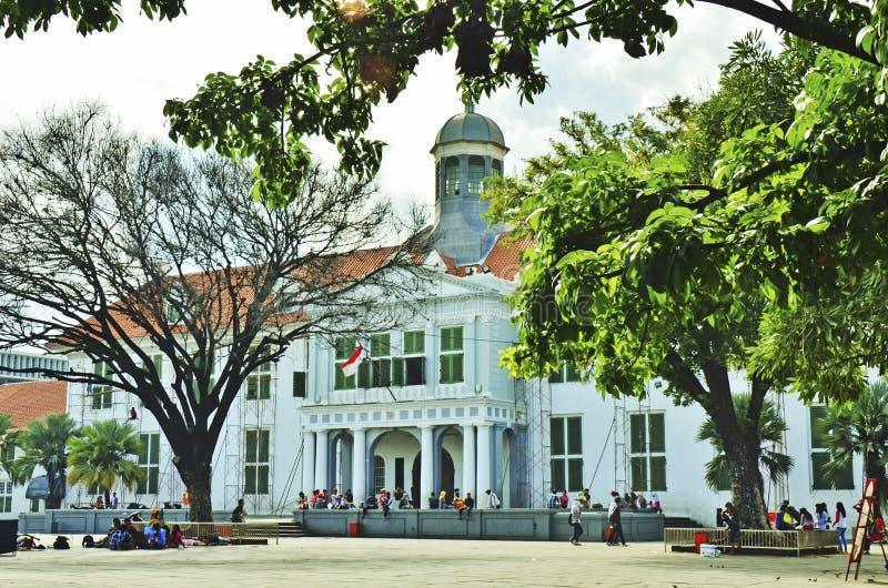 Jakarta historiemuseum royaltyfri fotografi