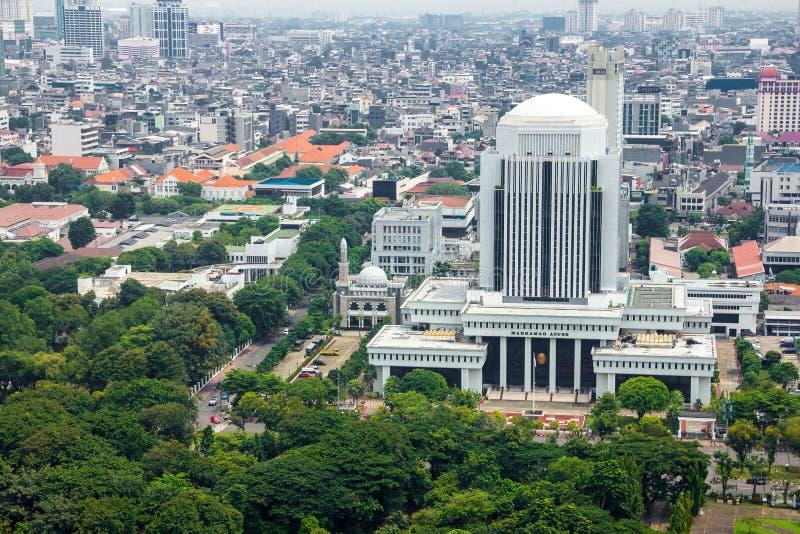 JAKARTA, INDONESIA - March 10th, 2019: Mahkamah Agung building stock image