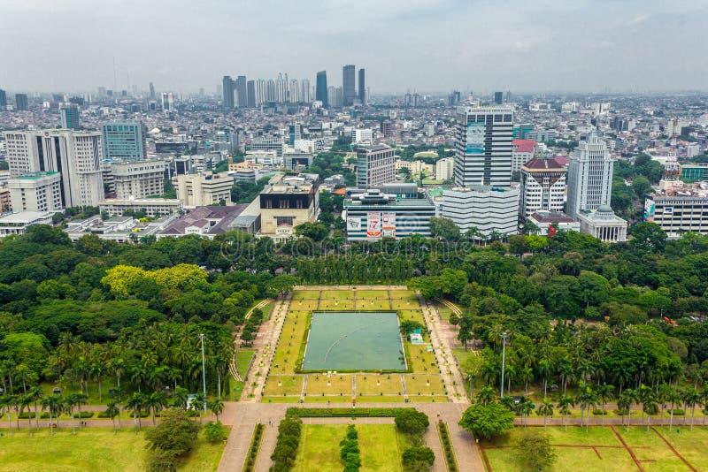 JAKARTA, INDONESIA - March 10th, 2019: Jakarta metropolitan city stock images