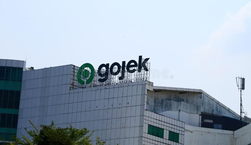 Gojek Head Office royalty free stock image