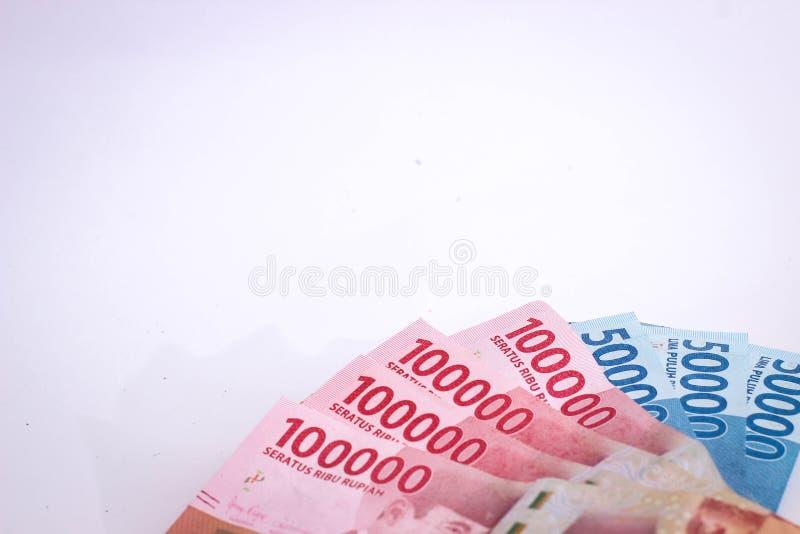 Jakarta, Indonesien - 18. Juni 2019: Etwas Rupiegeld lizenzfreie stockfotografie