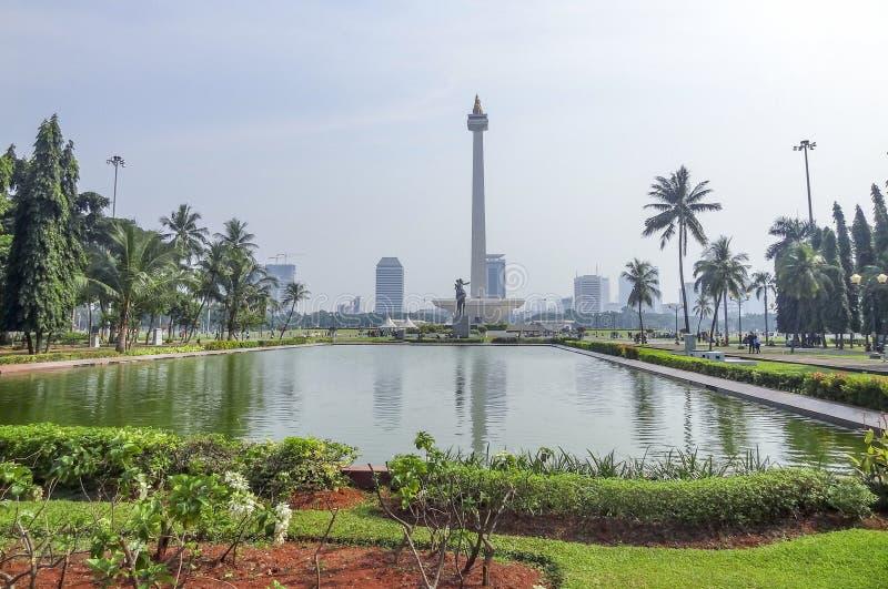 Jakarta in Java fotografia stock