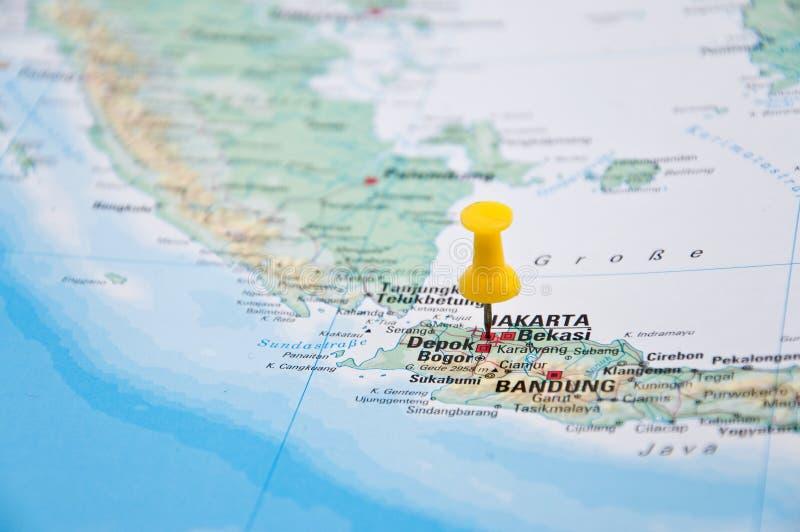 Jakarta java indonesia pin amarillo primer del mapa imagen de download jakarta java indonesia pin amarillo primer del mapa imagen de archivo gumiabroncs Gallery