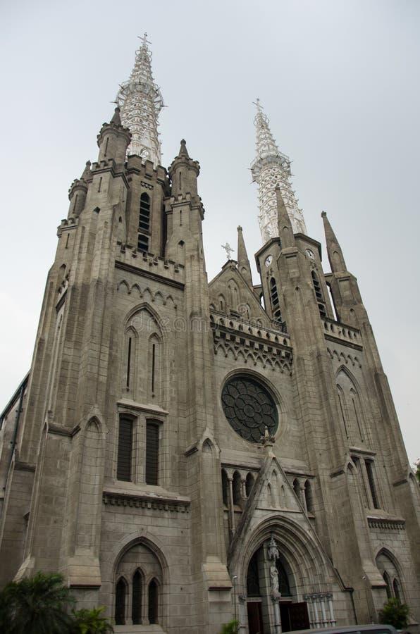 Jakarta-Kathedrale stockfoto