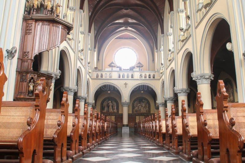 Jakarta-Kathedralen-Kirche stockfotografie
