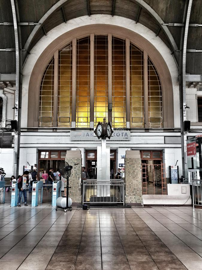 Jakarta Kota Station immagini stock libere da diritti