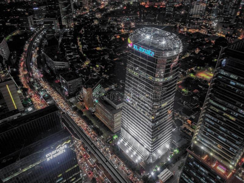 Jakarta-Stadtbild lizenzfreie stockfotografie