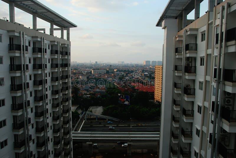 Jakarta view royalty free stock image