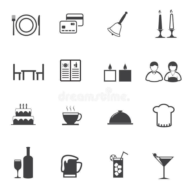 jako kontrola ikon wspaniałe rzeczy dużo ustala się podobny tysiące wektor moje portfolio restauracyjne szereg innych royalty ilustracja
