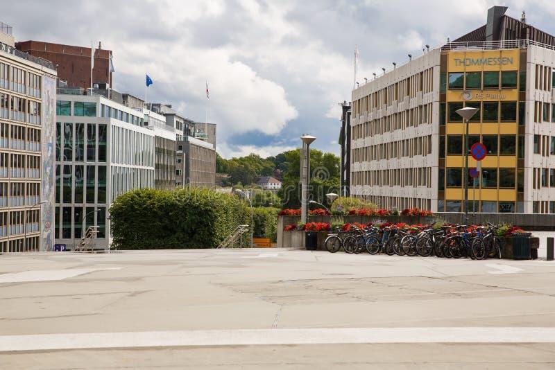 jako stolica najwięcej magistrackiego Norway Oslo ludnego widok well obrazy stock