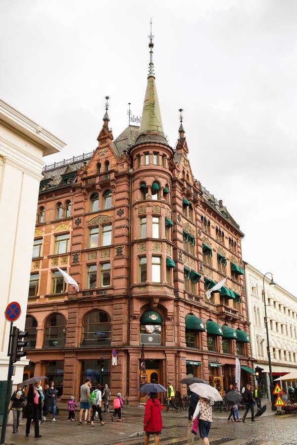 jako stolica najwięcej magistrackiego Norway Oslo ludnego widok well obraz stock