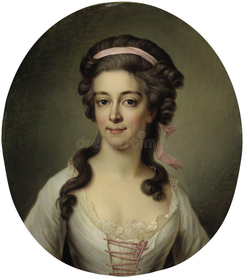 Jakob Björk (1727/28?–1793): Countess Maria Eleonora Lewenhaupt, née Koskull / Kreivitär Maria Eleonora Lewenhaupt stock photo