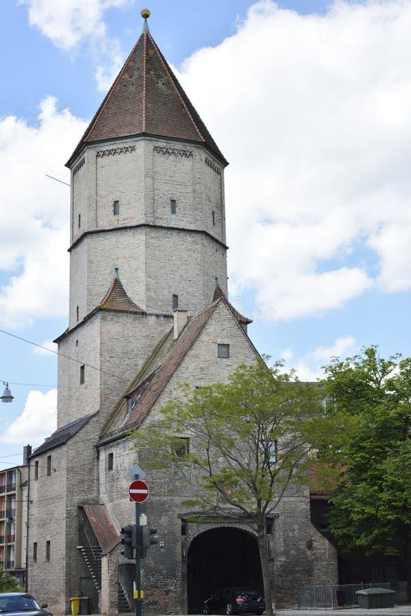 Jakober-σκαπάνη στο Άουγκσμπουργκ στοκ φωτογραφίες