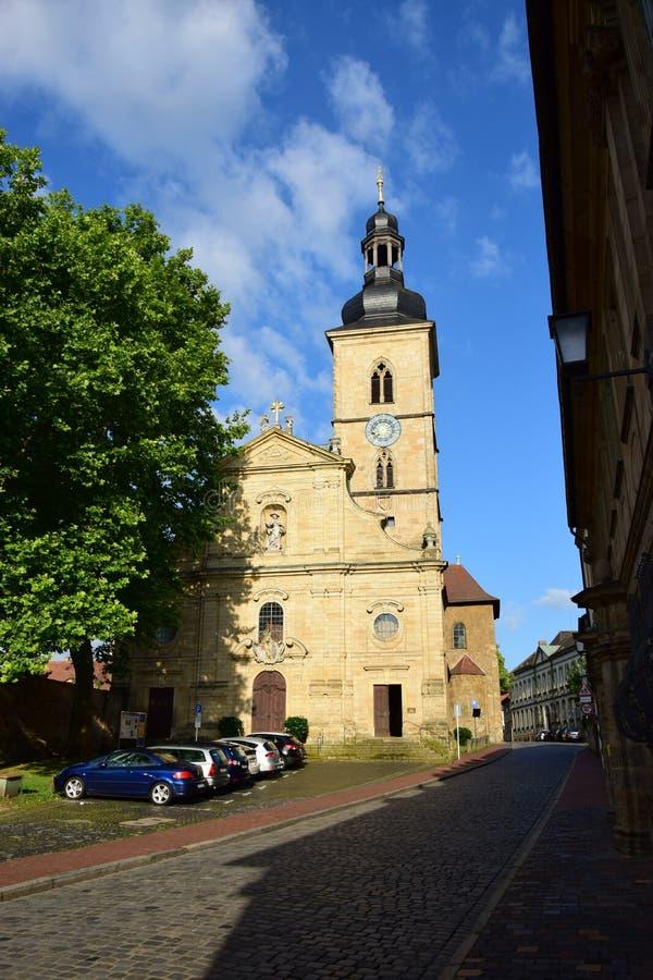Download Jakobskirche (St Jacob Kościół) W Bamberg, Niemcy Zdjęcie Stock Editorial - Obraz złożonej z stary, niemcy: 57659868