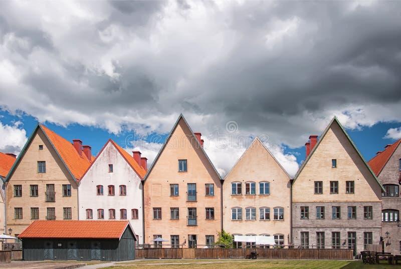 Jakriborg,瑞典22 图库摄影