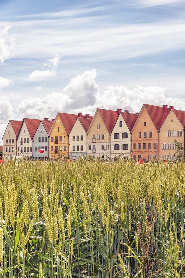 Jakriborg in Schweden stockbilder