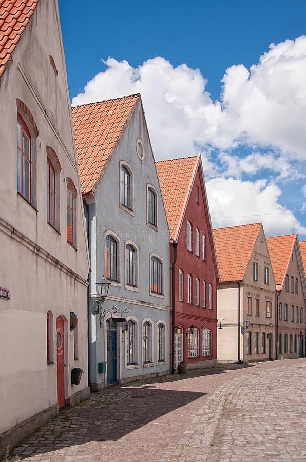 Jakriborg, Suécia 11 imagem de stock