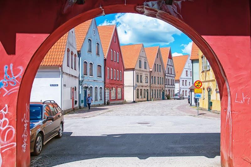 Jakriborg, Zweden 10 stock afbeeldingen