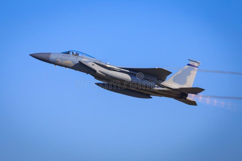 Jaktflygplan F15 royaltyfri bild