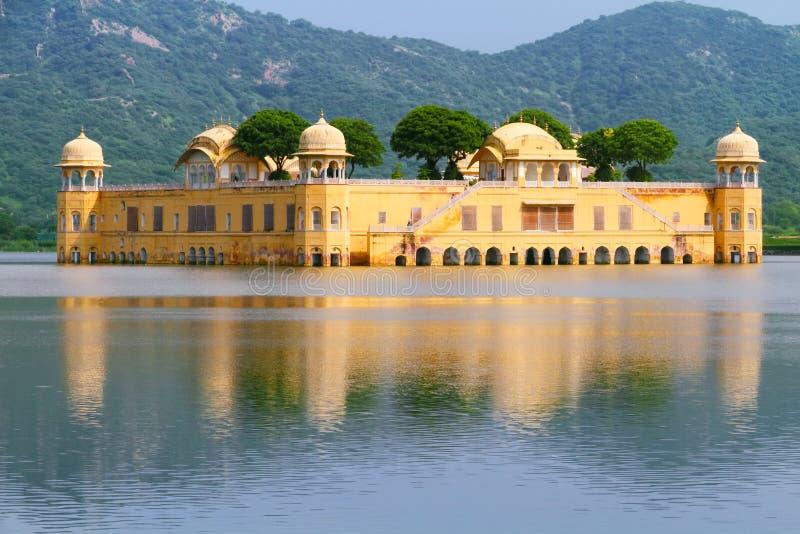 Jal Mahal em Jaipur fotografia de stock