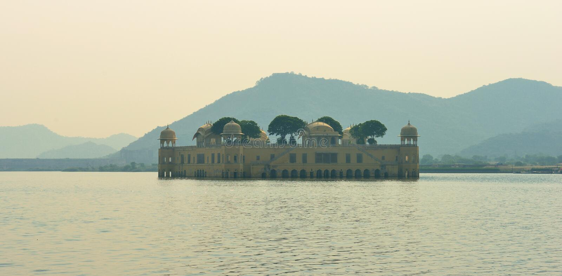 Jal Mahal, Jaipur arkivfoto