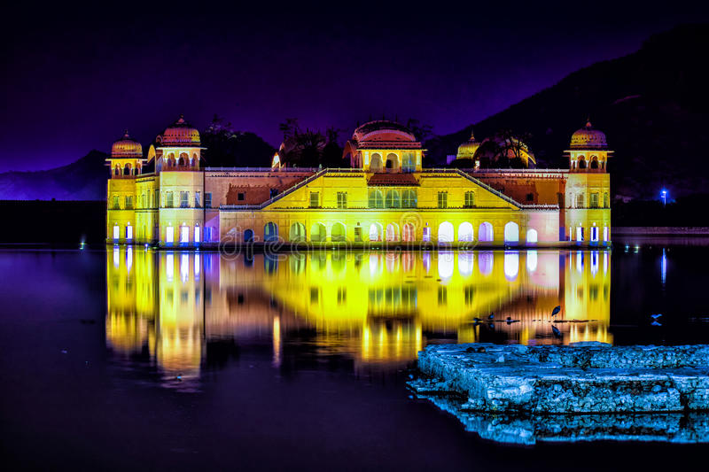 Jal mahal ..jaipur royalty free stock photos